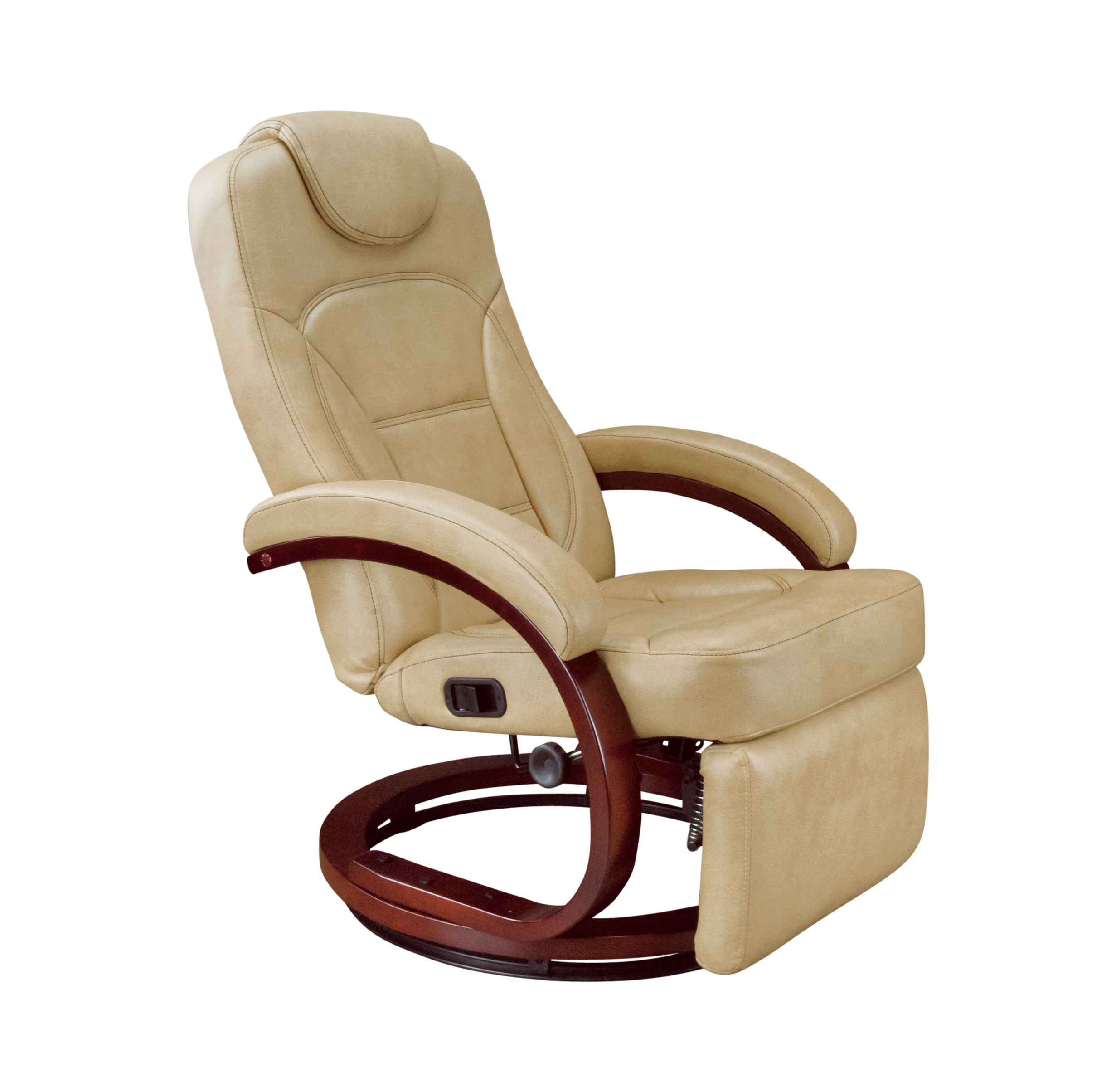 Euro Recliner Chair With Footrest Alternate Latte VR Expert